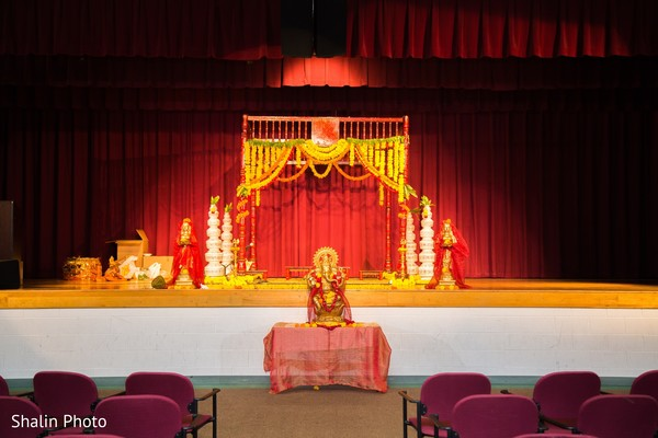Mandap in Chicago, IL South Indian Wedding by Shalin Photo