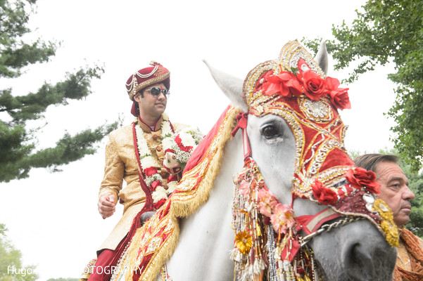Baraat in Brockport, NY South Asian Wedding by Hugo Juarez Photography