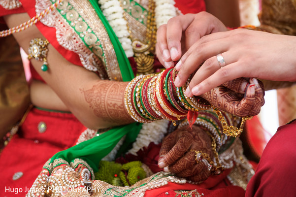 Ceremony in Brockport, NY South Asian Wedding by Hugo Juarez Photography
