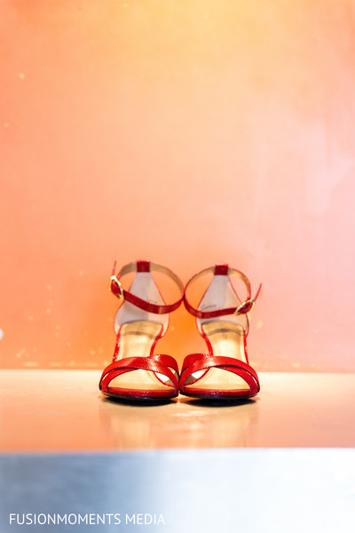 Shoes in Mountain View, CA South Asian Wedding by Fusion Moments Media