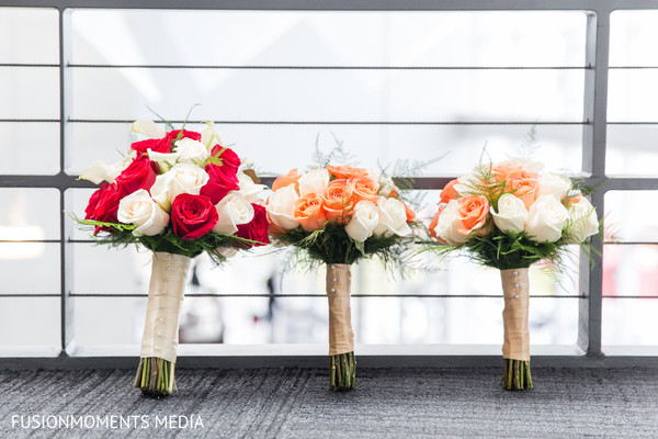 Bouquets in Mountain View, CA South Asian Wedding by Fusion Moments Media