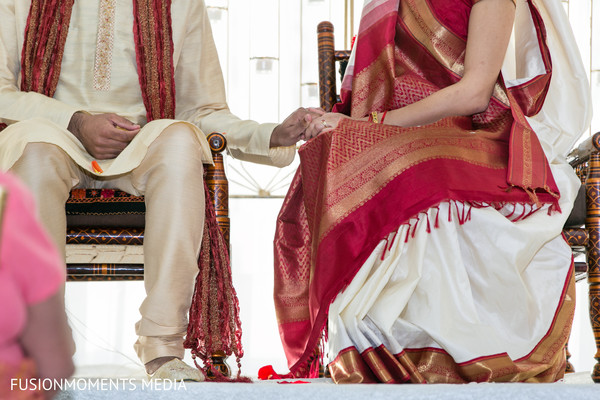 Fusion wedding ceremony in Mountain View, CA South Asian Wedding by Fusion Moments Media