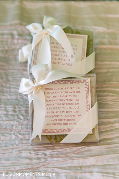 Wedding favors in Mountain View, CA South Asian Wedding by Fusion Moments Media
