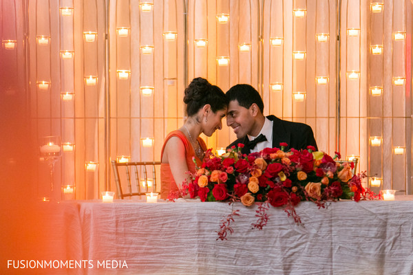 Reception in Mountain View, CA South Asian Wedding by Fusion Moments Media