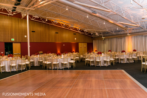 Reception venue in Mountain View, CA South Asian Wedding by Fusion Moments Media