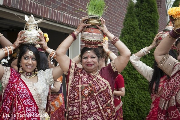 Pre-Wedding Ceremony in Plymouth, MI  Indian Fusion Wedding by Laurie Tennent Studio