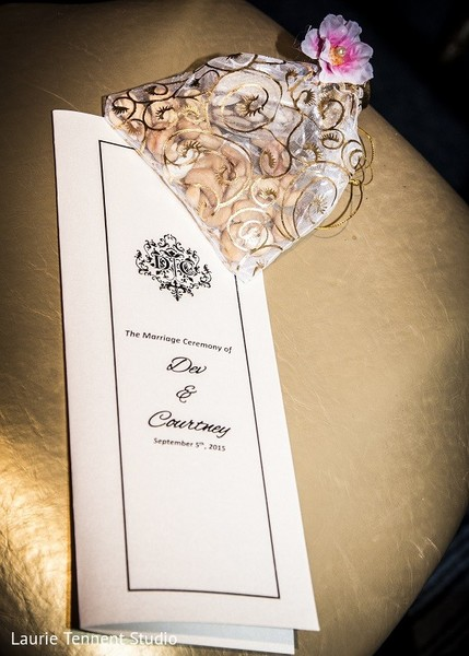 Stationery & Favors in Plymouth, MI  Indian Fusion Wedding by Laurie Tennent Studio