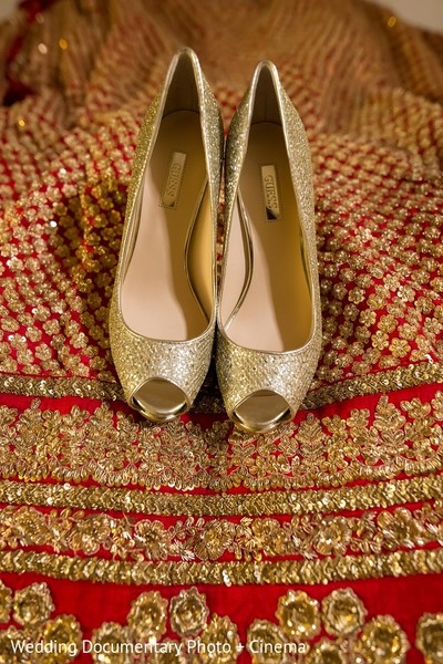 Shoes in San Mateo, CA Indian Fusion Wedding by Wedding Documentary Photo + Cinema