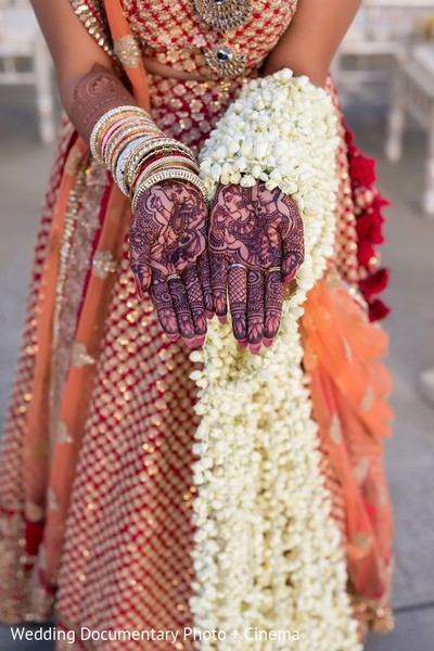 Mehndi & Bouquet in San Mateo, CA Indian Fusion Wedding by Wedding Documentary Photo + Cinema