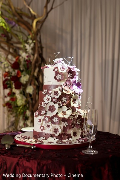 Wedding Cake in San Mateo, CA Indian Fusion Wedding by Wedding Documentary Photo + Cinema