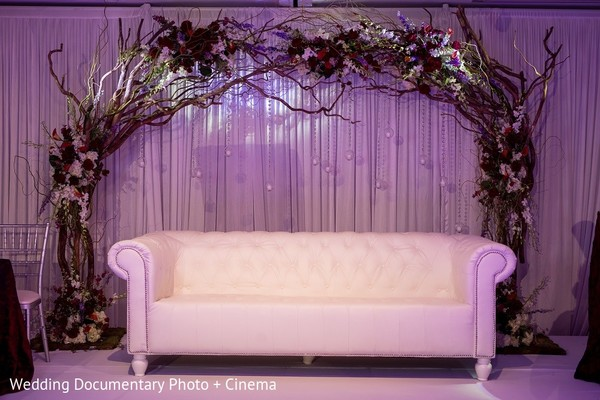 Sweetheart Stage in San Mateo, CA Indian Fusion Wedding by Wedding Documentary Photo + Cinema