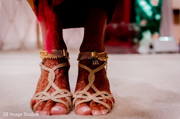 Shoes in Houston, TX Indian Fusion Wedding by SB Image Studios
