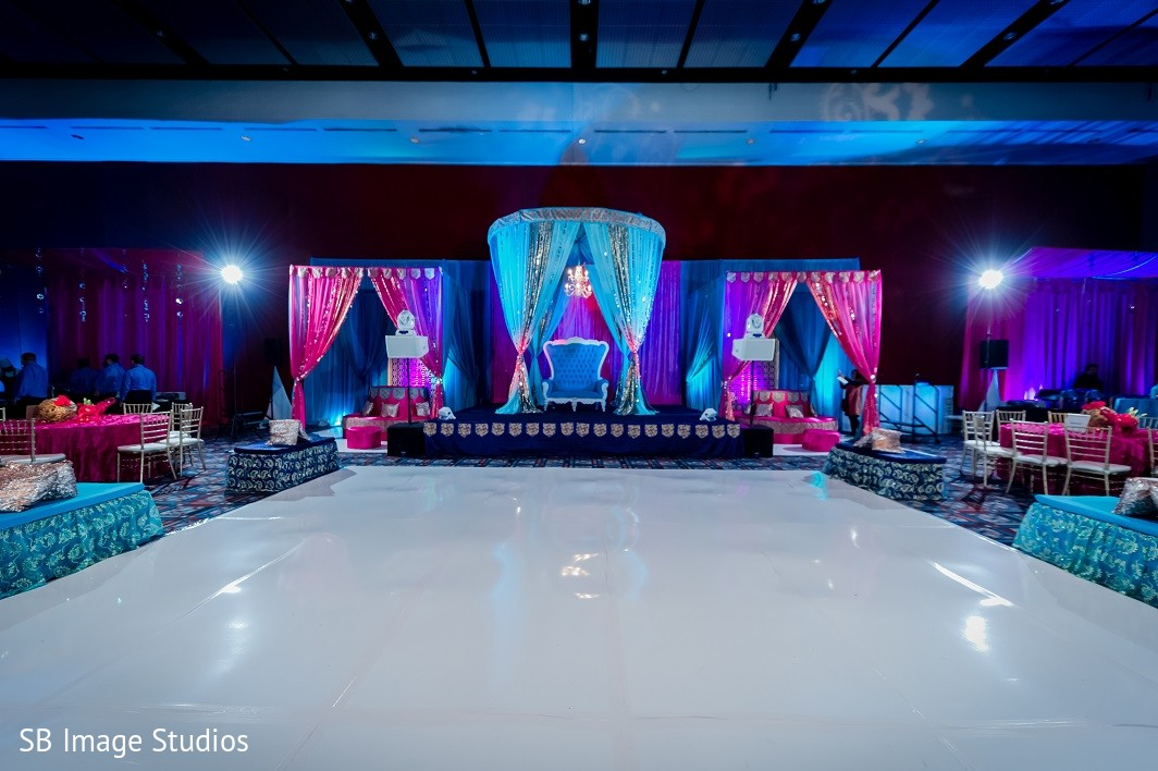 Sangeet decor in houston tx indian fusion wedding by sb for Decor 77005