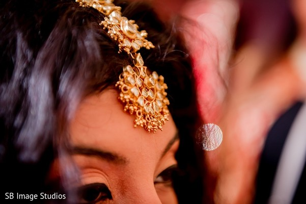 Getting Ready in Houston, TX Indian Fusion Wedding by SB Image Studios