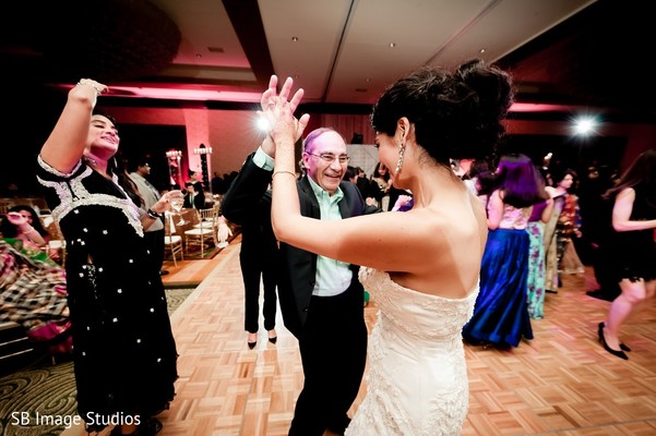 Reception in Houston, TX Indian Fusion Wedding by SB Image Studios