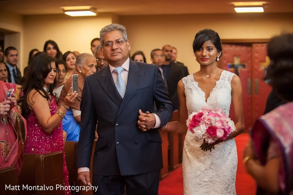 Ceremony in Austin, TX Indian Fusion Wedding by Matt Montalvo Photography