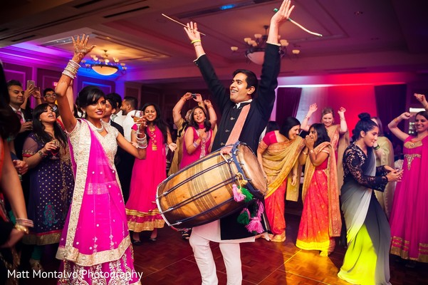 Reception in Austin, TX Indian Fusion Wedding by Matt Montalvo Photography