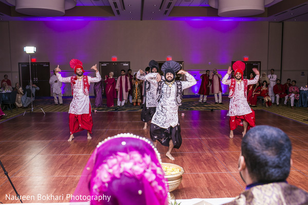 Performance in Herndon, VA Indian Wedding by Naureen Bokhari Photography