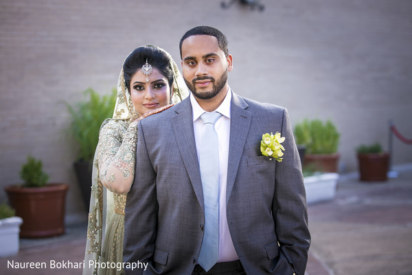 Indian reception portraits in Herndon, VA Indian Wedding by Naureen Bokhari Photography