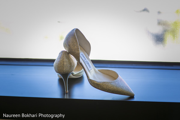 Jimmy choos in Herndon, VA Indian Wedding by Naureen Bokhari Photography