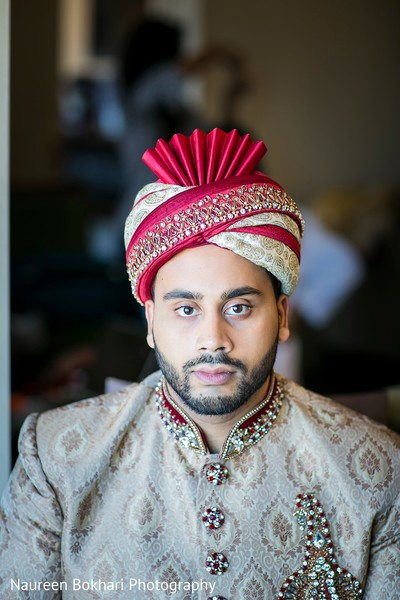 Groom fashion in Herndon, VA Indian Wedding by Naureen Bokhari Photography