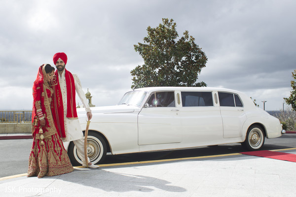 Indian bride and groom photography in San Jose, CA Sikh Fusion Wedding by JSK Photography
