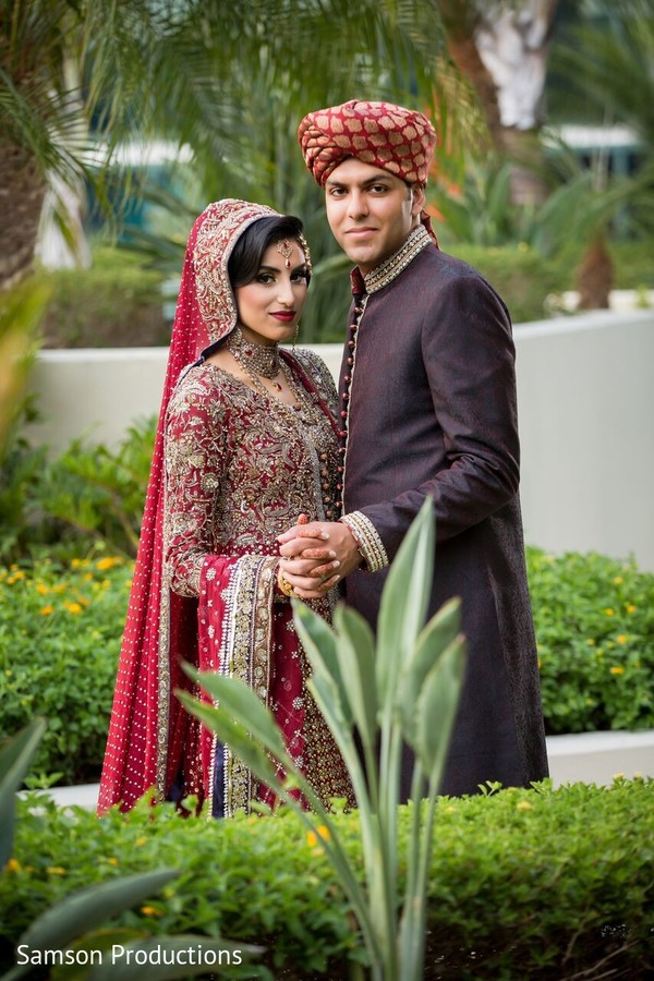 Nikah Portrait in Anaheim, CA South Asian Wedding by Samson Productions