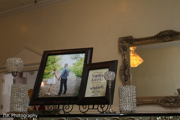 Reception floral and decor in San Jose, CA Sikh Fusion Wedding by JSK Photography