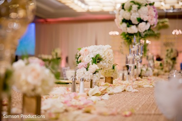 Nikah Decor in Anaheim, CA South Asian Wedding by Samson Productions