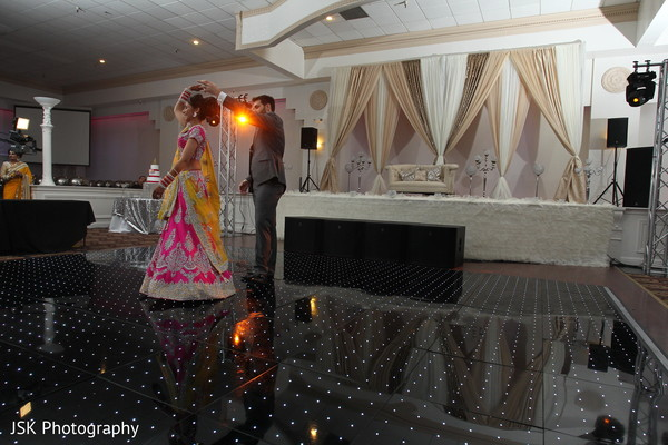 Reception in San Jose, CA Sikh Fusion Wedding by JSK Photography