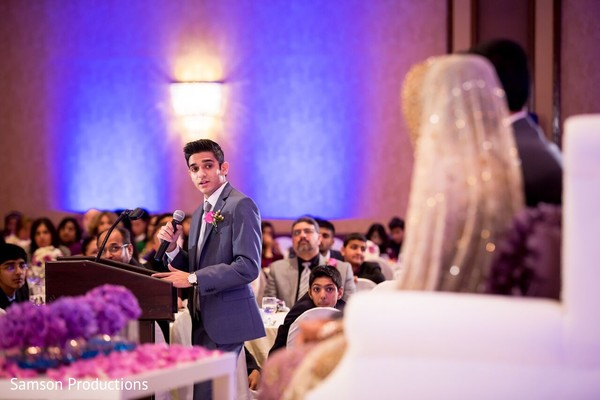 Walima in Anaheim, CA South Asian Wedding by Samson Productions