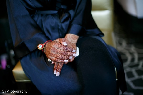 Getting Ready in Princeton, NJ Indian Wedding by SYPhotography