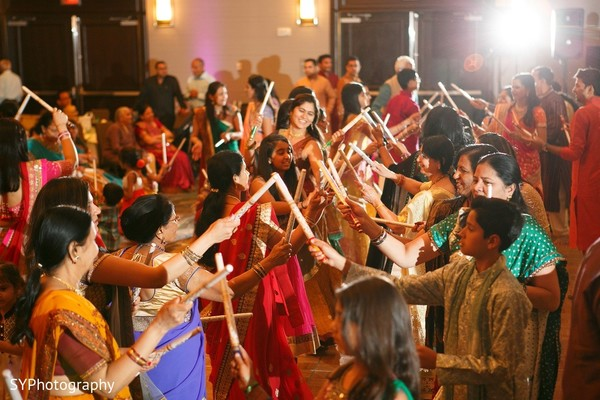 Sangeet in Princeton, NJ Indian Wedding by SYPhotography