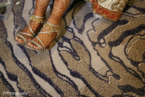 Mehndi in Princeton, NJ Indian Wedding by SYPhotography