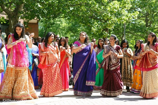 Baraat in Princeton, NJ Indian Wedding by SYPhotography