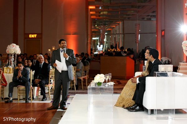 Reception in Princeton, NJ Indian Wedding by SYPhotography