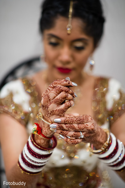 Indian wedding churis in Monmouth Junction, NJ South Asian Wedding by Fotobuddy Photography