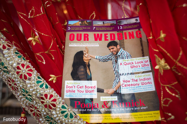 Wedding programs in Monmouth Junction, NJ South Asian Wedding by Fotobuddy Photography