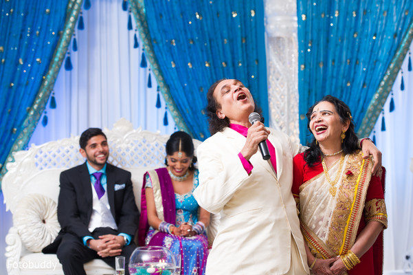Reception in Monmouth Junction, NJ South Asian Wedding by Fotobuddy Photography