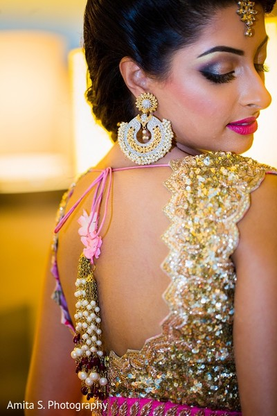 Pre-Wedding Makeup in Tampa, FL Indian Wedding by Amita S. Photography