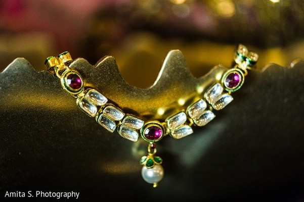 Bridal Jewelry in Tampa, FL Indian Wedding by Amita S. Photography