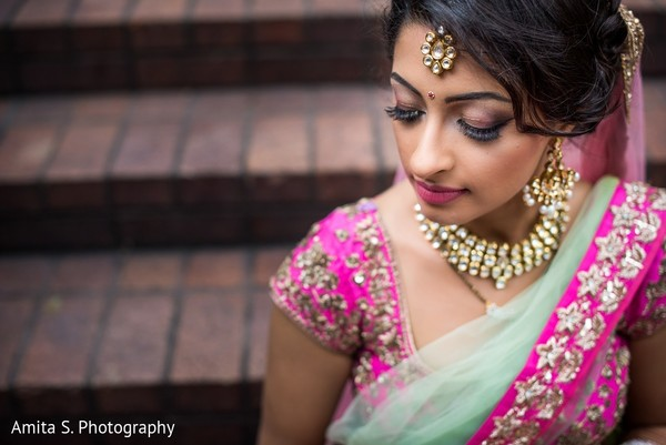Makeup in Tampa, FL Indian Wedding by Amita S. Photography