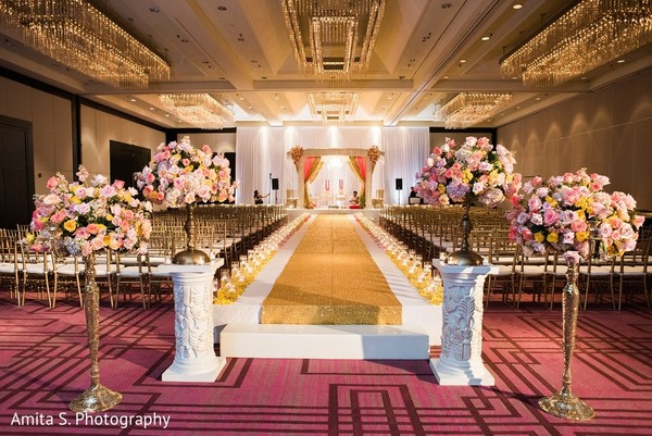 Venue & Decor in Tampa, FL Indian Wedding by Amita S. Photography