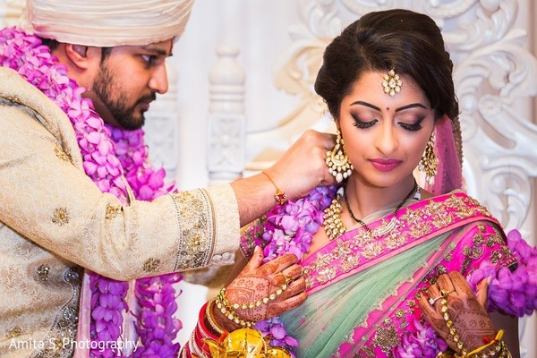 Ceremony in Tampa, FL Indian Wedding by Amita S. Photography