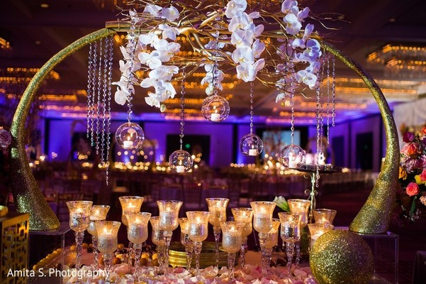 Floral & Decor in Tampa, FL Indian Wedding by Amita S. Photography