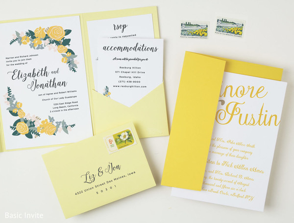 Wedding Stationery in You're Invited!: Stylish Stationery From Basic Invite