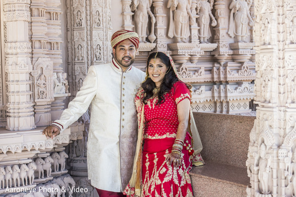 Wedding portrait in Chino Hills, CA Indian Wedding by Aaroneye Photo & Video