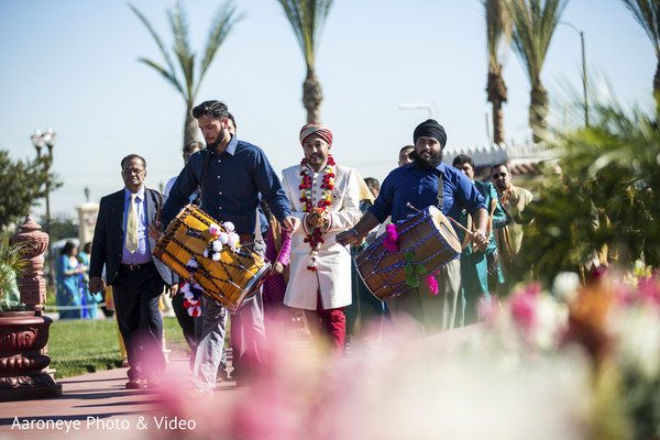 Baraat in Chino Hills, CA Indian Wedding by Aaroneye Photo & Video