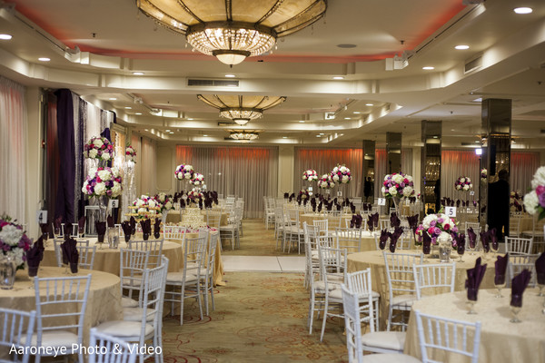 Reception floral and decor in Chino Hills, CA Indian Wedding by Aaroneye Photo & Video
