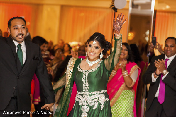 Reception in Chino Hills, CA Indian Wedding by Aaroneye Photo & Video